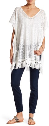 Melrose and Market Crochet Fringe Dress