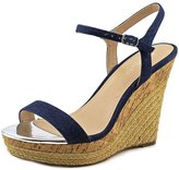 Charles by Charles David Charles By Charles D Arizona Women US 9 Blue Wedge Sandal
