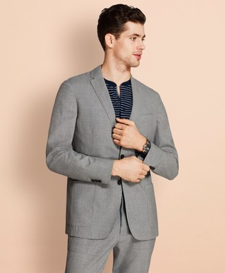 Brooks Brothers Wool Two-Button Unlined Suit Jacket
