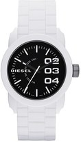 Diesel Double Down Silicone Strap Watch, 44mm