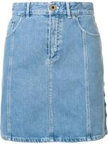 Chloé high waisted denim skirt - women - Cotton - 40