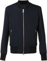 Ami Alexandre Mattiussi zipped bomber jacket - men - Cotton/Acetate/Wool - XS