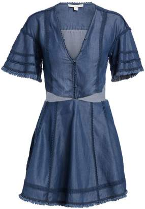 Jonathan Simkhai Denim Cutout Fit-&-Flare Dress