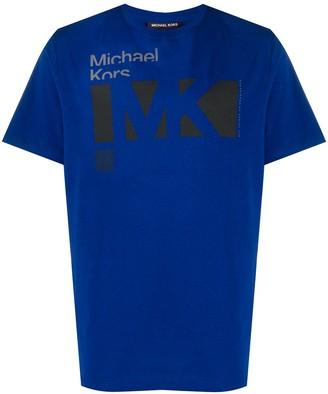Michael Kors graphic-print crew neck T-Shirt