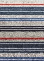 Chilewich Shag mixed stripe door mat