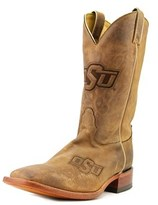 Nocona Men's Okla Branded Men 2e Square Toe Leather Western Boot.