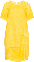 Isolde Roth Plus Size Linen blend balloon dress