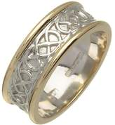 Fado Celtic Knot Wedding Ring 14K Made in Ireland Size 10.5