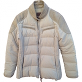Moncler Ecru Polyester Jacket