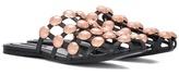 Alexander Wang Embellished leather sandals