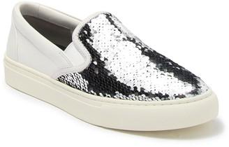 Tory Burch Carter Flip Sequin Slip-On Sneaker