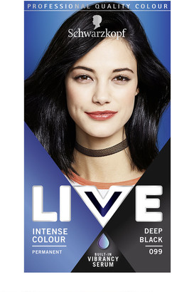 Schwarzkopf Live Colour Intense Colour 099 Deep Black