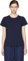 Blue Blue Japan Indigo Crewneck Pocket T-shirt