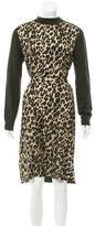Louis Vuitton Wool & Silk-Blend Dress