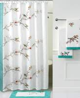 Lenox Simply Fine Bath Accessories, Chirp Shower Curtain