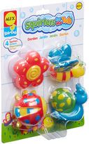 Alex Rub A Dub Bath Squirters Garden 4-pc. Toy Playset