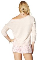 Juicy Couture French Terry Lace Pullover