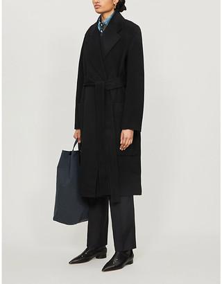 Acne Studios Wrap-over wool coat