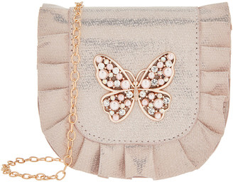 Monsoon Venita Pearl and Sparkle Butterfly Bag