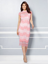 New York & Co. Eva Mendes Collection - Jordana Lace Sheath Dress