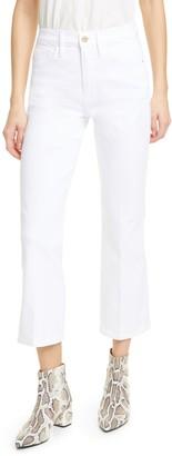Frame Le Sylvie High Waist Crop Kick Boot Jeans