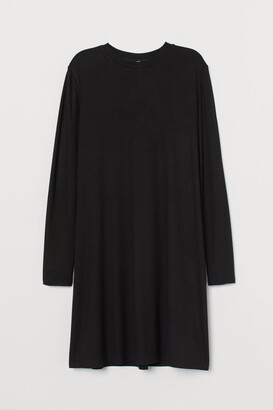 H&M Ribbed jersey dress