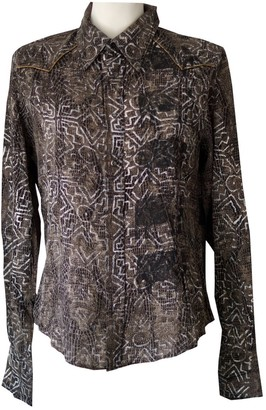 Rare Brown Silk Top for Women