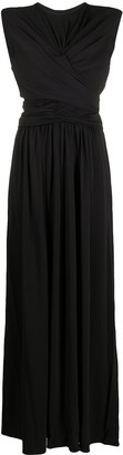 Isabel Marant Guciene ruched maxi dress