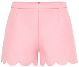RED Valentino Wool-blend shorts
