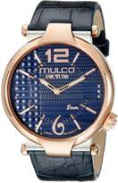Mulco Men's MW5-3183-044 Couture Slim Analog Display Swiss Quartz Watch