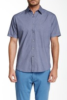 James Campbell Breville Short Sleeve Regular Fit Shirt