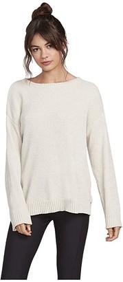 Volcom Lil Sweater (Bone) Women's Clothing