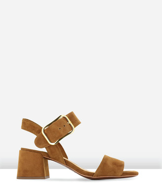 LAUREN MARINIS - Women's Brown Strappy sandals - Anna - Size One Size, 39 at The Iconic
