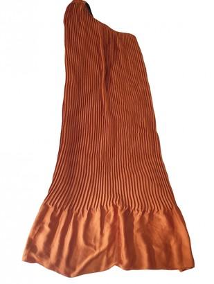 Tome Orange Polyester Dresses