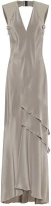 Max Mara Arezzo silk-crepe gown