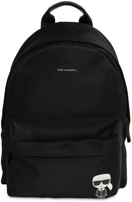 Karl Lagerfeld Paris K/ikonik Nylon Backpack