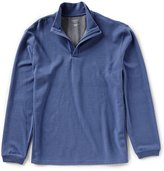 Roundtree & Yorke Trim Fit Long-Sleeve Half Zip Pullover