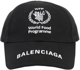 Balenciaga WFP PRINT COTTON BASEBALL HAT