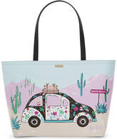 Kate Spade Scenic Route Car Francis canvas tote
