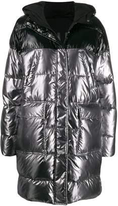 Pinko two-tone padded coat