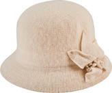 San Diego Hat Company Knit Cloche Bucket Hat with Side Bow CTH8091 (Women's)