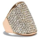 Vince Camuto Pavé Shield Ring