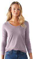Women's SONOMA Goods for LifeTM Essential Slubbed V-Neck Tee