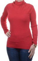 INC International Concepts Petite Long-Sleeve Ribbed Turtleneck Size PL