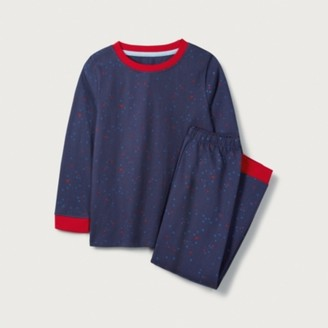 The White Company Multi Star Pyjamas (1-12yrs), Blue, 2-3yrs
