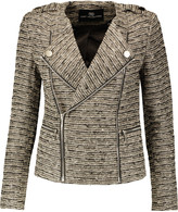 Tart Collections Amber metallic bouclé-tweed jacket