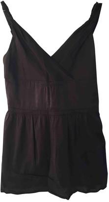 Miu Miu Anthracite Cotton Top for Women