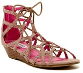 Steve Madden Chelsey Ghillie Wedge Sandal (Little Kid & Big Kid)