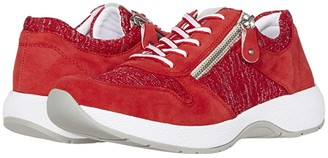 Rieker R8911 Norina 11 (Flamme/Rosso/Silber/Ice) Women's Shoes