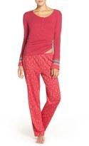 Lucky Brand Women's Henley Pajamas